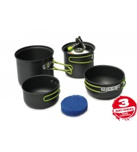 Double set Ollas camping Pinguin