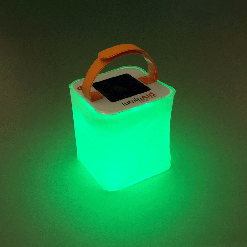 NANAD LuminAID PackLite 12 Linterna Solar Inflable Plegable telesc/ópica para airbag tama/ño Tama/ño Libre Color Shows