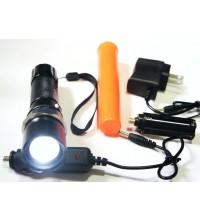 Linterna doble forntal LED recargable Bici Generica