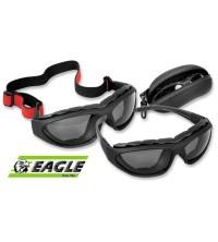 Gafas lente oscuro filtro UV Eagle
