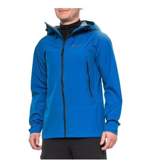 Fraxium chaqueta impermeable Goretex Marmot azul