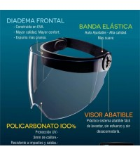 abatible visor policarbonato careta SK702