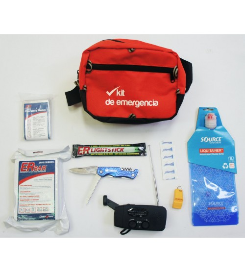 Emergencias terremotos kit