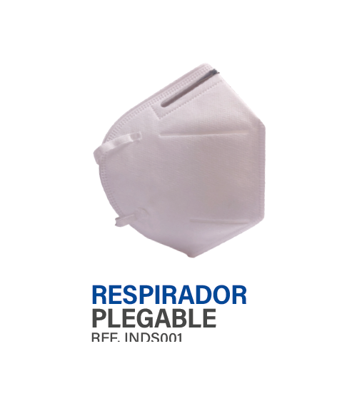 INDS001 Respirador tapabocas tipo N95 INDUSAFE