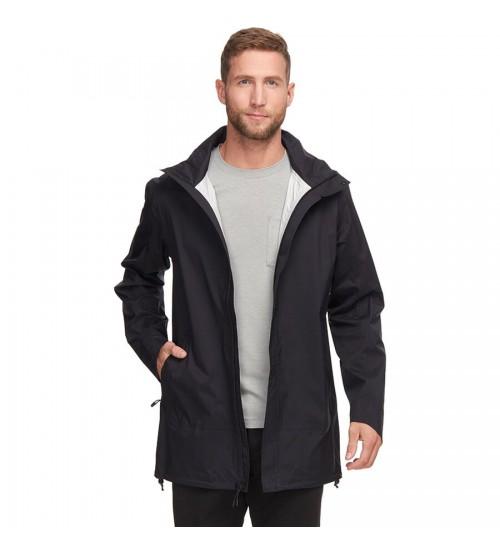 Marais rain black chaqueta corta vientos impermeable Backcountry