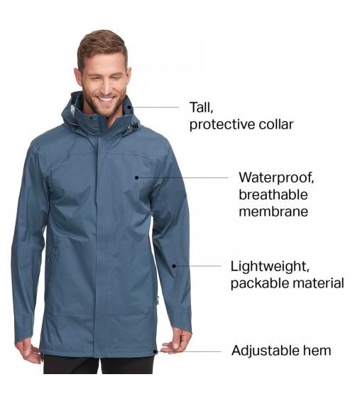 Marais rain verde chaqueta cortavientos impermeable Backcountry