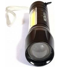 Linterna de mano LED recargable Genérica 2 focos