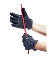 Rappel cuero Guantes Bluewater