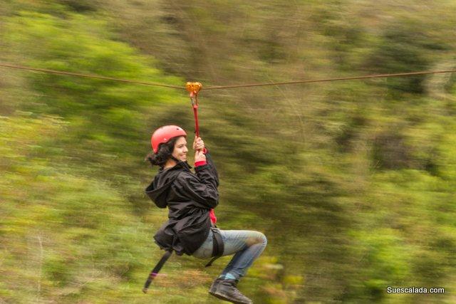 Canopi y escalada La Calera