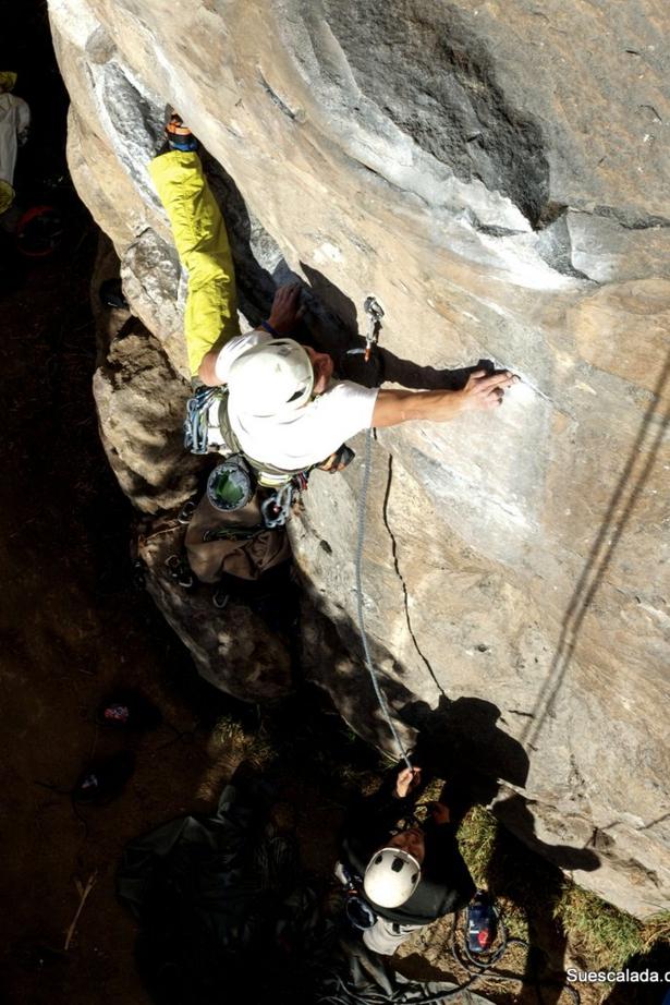 rock climbing Suesca full day